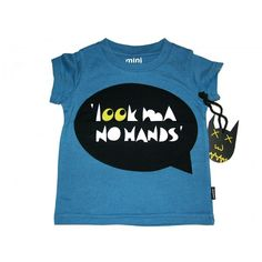 Look ma, no hands! Munster Kids, Mini S, Rock Style, Have Fun, T Shirt, Australia, Hands, Babies, Clothes
