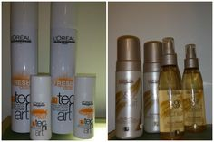 """* Fresh dust : de poeder in een spray """" droog shampoo"""" Verfrist het haar op elk moment v.d dag.  Texture dust: mineraal poeder. Geeft een zachtere hold en beweging aan het haar.  Soft curls: aqua-mousse voor veerkrachtige krullen, controle en glans dat natuurlijk aanvoelt voor luchtige en volle krullen.  Natural finish: langdurige flexibele hold en glans."""