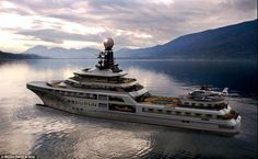 The PJ World yacht, estimated to cost at least £80m, really is a luxury home on the sea wi...
