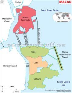 Macau #Worldmap