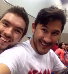 Markiplier and JackSepticEye selfie!!! I can't express how many I've stumbled across, yet each one is better than the last.