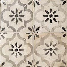 I'd like to find a ceramic tile that looks like this cement tile (to pass health if possible) for the doorway between the Taqueria line and the Bar. Blue tile to 5 ft (see other pic) and this to ceiling. pics 27 Kitchen Tile Backsplash Ideas We Love Terracota, Blue Tiles, Fireplace Surrounds, Fireplace Tile Surround, Fireplace Kitchen, Shiplap Fireplace, Fireplace Remodel, Moorish, Kitchen Tiles