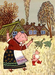 Yuri Vasnetsov  Russian fairy tales (1969)