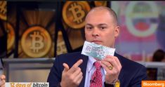 ### Bloomberg Host Gets JACKED For His Bit-Coin, on Live TV!