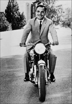 The late King Hussein of Jordan
