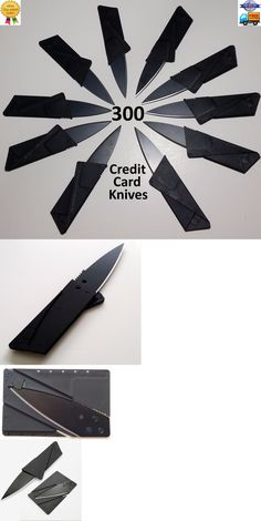 Other Wholesale Sporting Goods 26423: 300 Credit Card Knives Lot Folding Wallet Thin Pocket Survival Sharp Micro Knife -> BUY IT NOW ONLY: $139.6 on eBay!