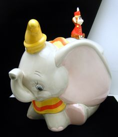 Disney Dumbo Cookie Jar Enesco $199.99. I have this one, but didn't know it was now worth this much!  Good to learn!  :)