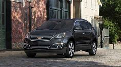 2014 Chevy Traverse in Black Granite...possibly next vehicle