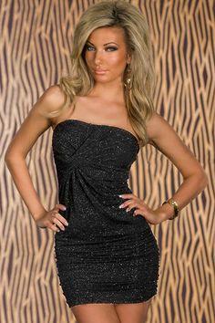 Sexy Damen Stralend Kleid Spitzenkleid Minikleid Cocktailkleid ,Größe One-Size