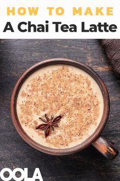 How To Make A Fantastic Chai Tea Latte cookies drink ice cream leaf mask peng Chia Tea Latte Recipe, Chaï Tea Latte, Starbucks Chai Tea Latte Recipe, Latte Art, Dunkin Donuts Vanilla Chai Recipe, Best Chai Tea Recipe, Vanilla Chai Latte Recipe, Chai Spice Mix Recipe, Iced Chai Tea