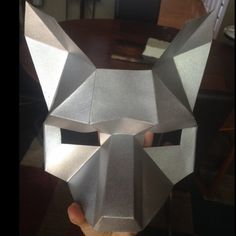 Make a Half Face Fox papercraft mask Fox Mask, Skull Mask, Game Of Thrones Mask, Paper Face Mask, Surviving In The Wild, Mask Template, Half Face Mask, Marker Pen, Color Card