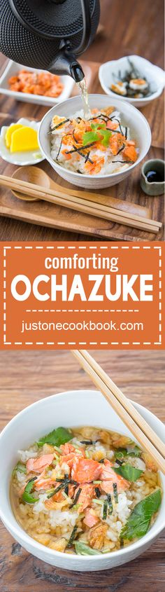 Ochazuke (お茶漬け) | Easy Japanese Recipes at JustOneCookbook.com