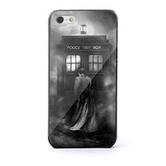 Dr Who Tardis Box in Galaxy for Iphone and Samsung Galaxy (iPhone 5/5s black)