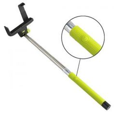 Selfie Stick with Built-In Shutter Control (Bluetooth) - Take pictures with east while at your festival :) £9.99