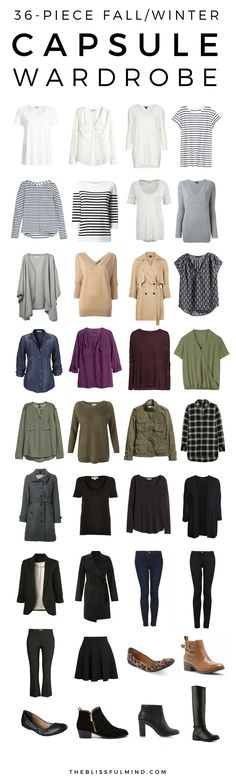 36-Piece Fall Winter
