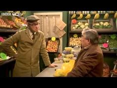 """As a """"mature"""" EFL teacher, I have fond memories of the classic comedy show """"The Two Ronnies"""" on the BBC. British Humor, British Comedy, The Two Ronnies, Ronnie Corbett, Comedy Clips, Bbc One, Make You Smile, Puns, The Funny"""