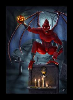 Red Demon by Erebus74.deviantart.com on @deviantART