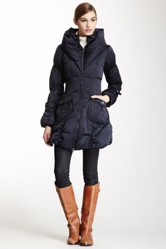 Happy Goat Lucky Paris Puffer Coat by Happy Goat Lucky -need to find this!