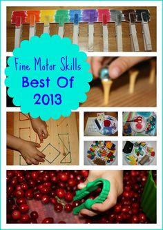 Fine Motor Skills Best of 2013 from Little Bins for Little Hands
