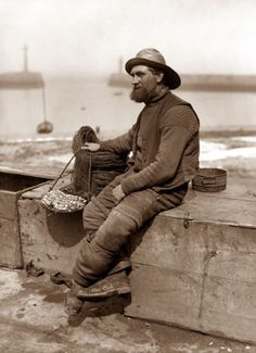 vintage photography fisherman - Google Search