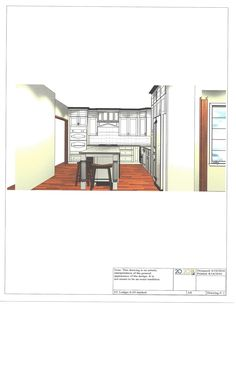Cad Drawing, Kitchen Designs, Cuisine Design