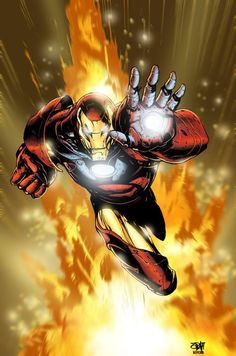 Iron Man Comic Art | Iron Man Comic Book Art