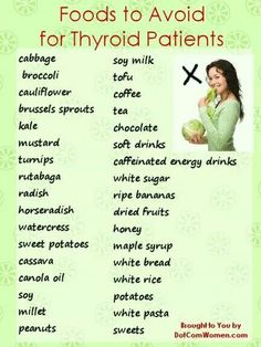 Hypothyroidism Diet - List of Foods to Avoid for Thyroid Patients Thyrotropin levels and risk of fatal coronary heart disease: the HUNT study. Hypothyroidism Diet, Thyroid Diet, Thyroid Cancer, Thyroid Disease, Autoimmune Disease, Heart Disease, Thyroid Gland, Thyroid Hormone, Thyroid Foods To Avoid