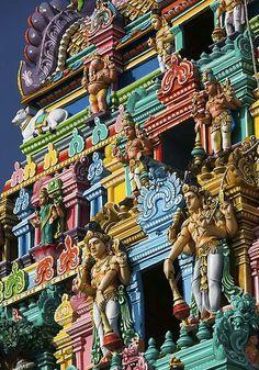 Kapaleeshwarar Temple, (aka Karpagambal Kovil) in Mylapore, Chennai, India. Web Design, Website Design, We Are The World, Wonders Of The World, Chennai, Places Around The World, Around The Worlds, Beautiful World, Beautiful Places