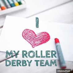 Feeling big love for  @avalanchecityrollergirls #rollerderby #iheartderby #derbylove #myboutbook