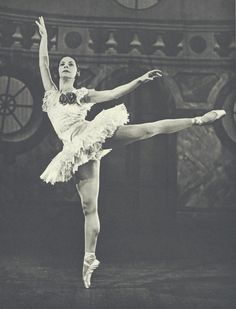 "Ballerina Alicia Alonso. She is one of only 11 dancers to ever earn the rare & honored titled ""Prima Ballerina Assoluta."""