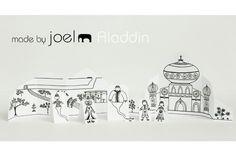 """j'ai déjà présenté ici les """"Paper City"""" de Joel : voici sa dernière-née qui nous emmène dans le pays d'Aladdin... (les autres sets sont plus bas sur ce board)"""
