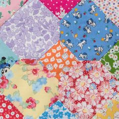Happy Flower Quilt-Along - block 21 by arabesque scissors