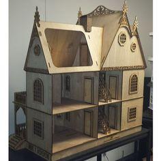 Jasmine Gothic Victorian 1:12 Scale Dollhouse Kit