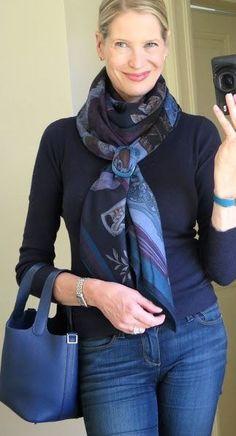 30 best casual silk scarf ideas - Dailyfeedpins.com