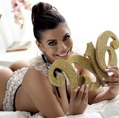 Miss Bumbum Brazil Suzy Cortez rings in the new year