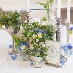 Glass Vase, Table Decorations, Floral, Home Decor, Flowers, Interior Design, Home Interior Design, Dinner Table Decorations, Home Decoration