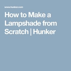 How to make a wire lampshade frame wire lampshade and lamp light greentooth Image collections