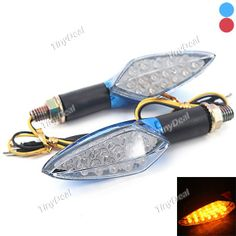DIY Motorcycle Decoration Yellow Light LED Rhombic Turn Signal Lamp (2 PCS) RTH-291805 Motorcycle Headlight, Light Led, Garden Trowel, Personalized Items, Yellow, Diy, Yellow Decorations, Bricolage, Do It Yourself