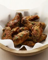 Thai Green Curry Hot Wings Recipe on Food & Wine