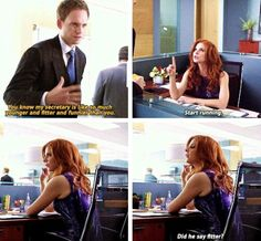 There is no one funnier or fitter than Donna haha