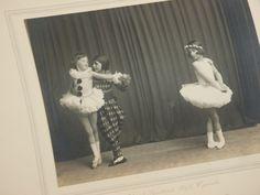 Vintage Black & White Photograph 3 Young Ballerina Children | eBay