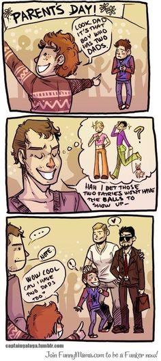Can i have two daddies? Cute Comic!