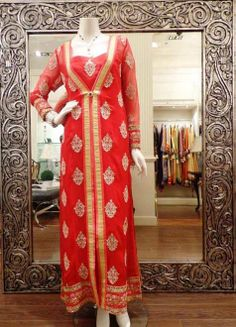 Threads And Motifs Party Winter Dresses 2014 For Girls (1)