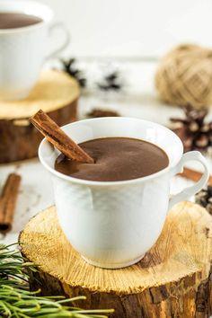 Hustá horúca čokoláda Chocolate Coffee, Chocolate Fondue, Best Hot Chocolate Recipes, Nutella, Diy And Crafts, Food And Drink, Ice Cream, Smoothie, Sweets