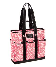 Take a look at this Pink Twice Pocket Rocket Tote today!