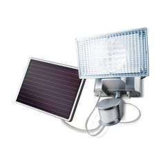MAXSA Innovations 44449 Solar-Powered Motion-Activated LED Security Light
