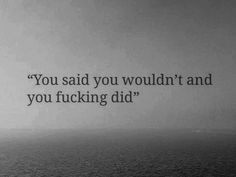 AND YOU DID IT.... and i still love you WTF???...