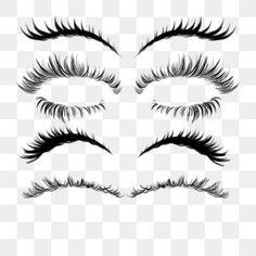 Thicker Eyelashes, Longer Eyelashes, Eyebrow Images, Fake Eyelash Makeup, Eyebrow Design, Hand Clipart, Black Curls, Eyelash Logo, Portrait Photography Men