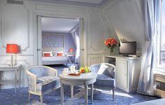 Privilege Suite with view on the Arc de Triomphe - Hotel Splendid Etoile - www.hsplendid.com