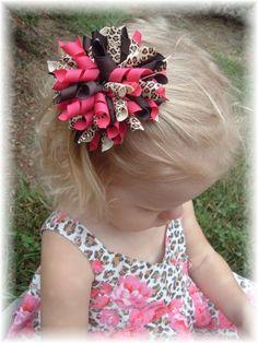 korker hair bows | ... hair bow here you can create your own custom korker jumbo hair bow the